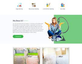 #9 for Landing page for carpet cleaning by smartyogeeraj