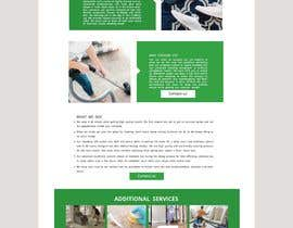 #41 for Landing page for carpet cleaning by vinodthampik74