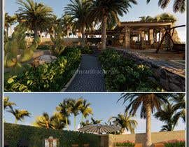 #21 for Landscape Design around an existing pool with Dinning, BBQ , shower and Lounge areas af mrarifrachman