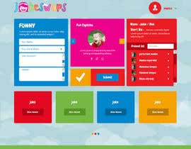 #13 untuk Design a Website Mockup for Kids Social Media site oleh syrwebdevelopmen
