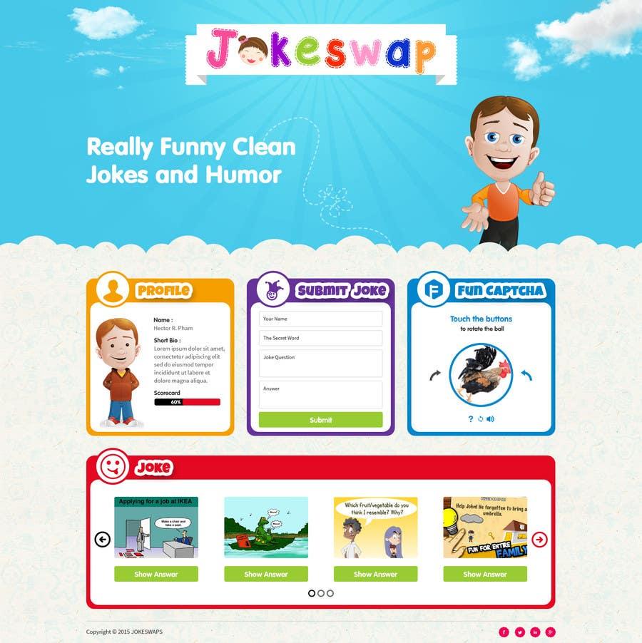 Bài tham dự cuộc thi #8 cho Design a Website Mockup for Kids Social Media site