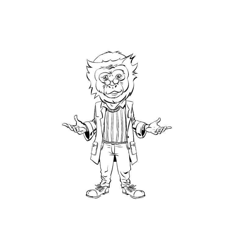 Konkurrenceindlæg #                                        45                                      for                                         Design cartoon character named, George T Hemp.