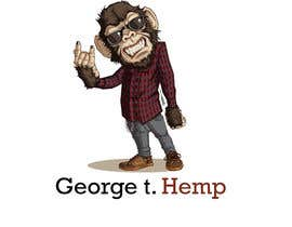 #49 for Design cartoon character named, George T Hemp. af bilkisashraf