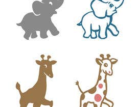 #16 cho Create a safari illustration of baby cloths bởi labtop08