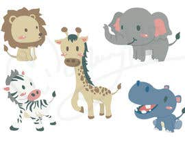 #24 cho Create a safari illustration of baby cloths bởi MonkeyHP