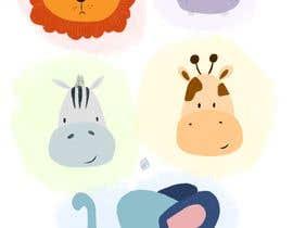 #18 cho Create a safari illustration of baby cloths bởi YuliaIvatina