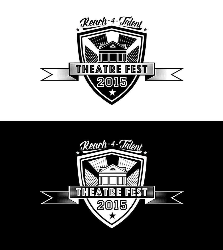 Participación en el concurso Nro.41 para Design a Logo for TheatreFEST/15