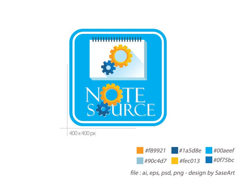 Kilpailutyö #7 kilpailussa Design a Logo for NoteSource