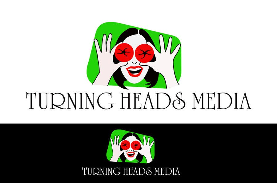 #67 for Logo Design for Turning Heads Media by nilosantillan