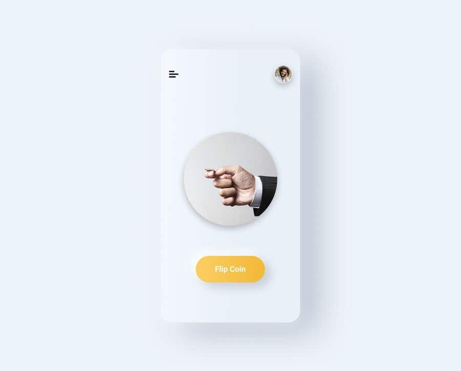 Penyertaan Peraduan #                                        13                                      untuk                                         Make me a cool coin flipping app for Android
