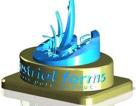 #28 cho CAD Design/ model up logo of Industrial Forms suitable for 3d Printing bởi SundaramRamGuru