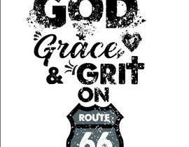 #128 for Collection God Grace & Grit t shirt design by Shahabuddinsbs