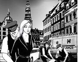 clearboth78 tarafından Black and White Comic Illustration için no 24
