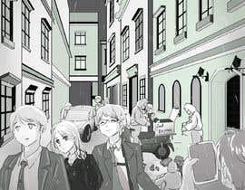 LostWayne tarafından Black and White Comic Illustration için no 8