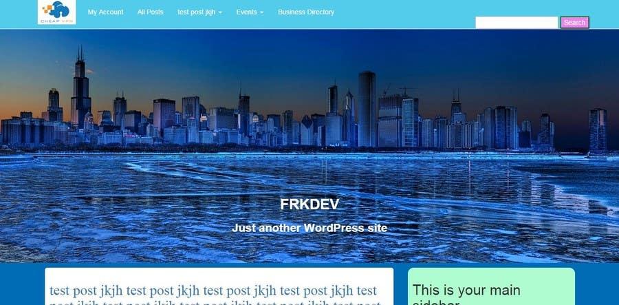 Entri Kontes #                                        5                                      untuk                                        Create a Wordpress Template for a Technical Tutorial Blog