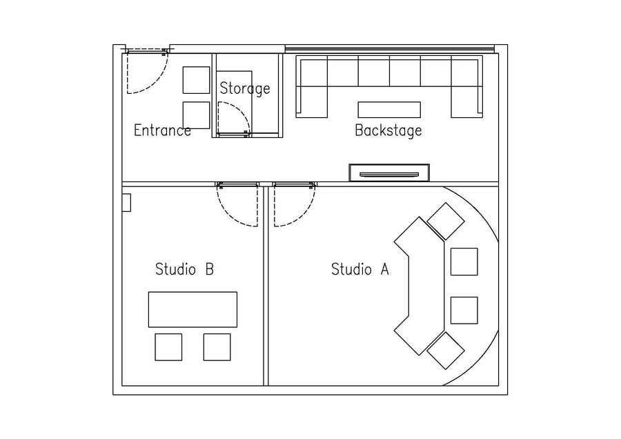 Konkurrenceindlæg #                                        8                                      for                                         designing a youtube studio