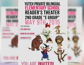 #1 para school Reader's Theater invitation de akram1293
