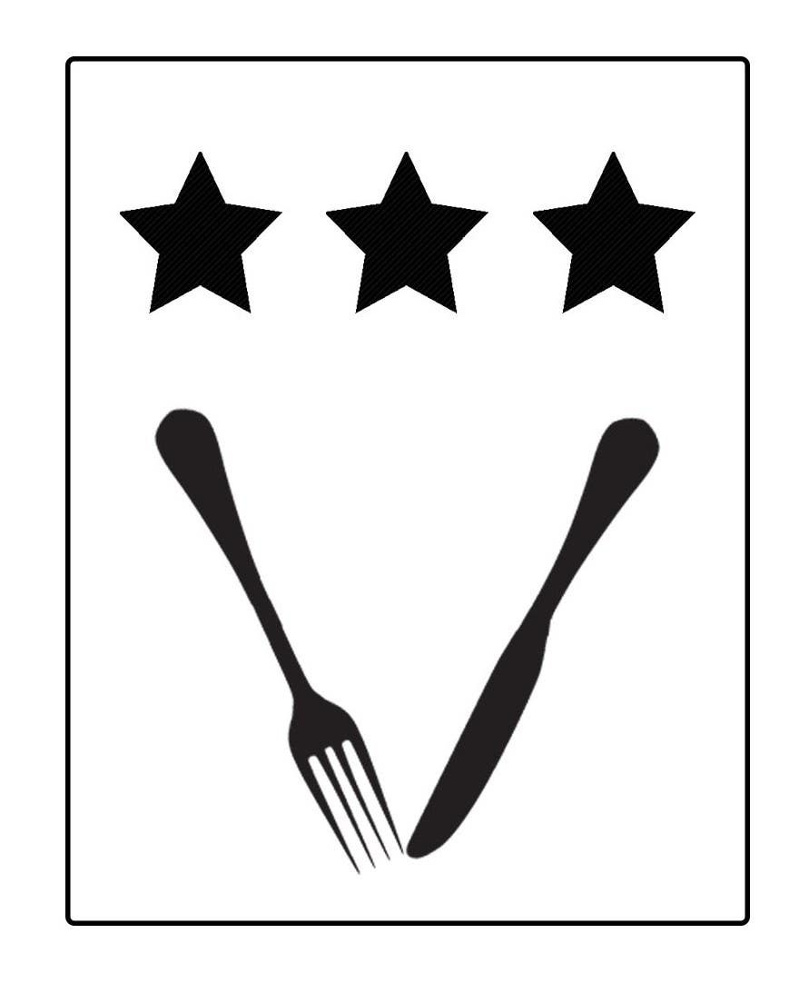 Kilpailutyö #6 kilpailussa Design some Icons for 2-3 star knife and fork