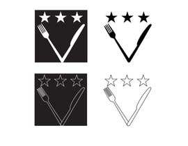 #16 untuk Design some Icons for 2-3 star knife and fork oleh mehremicnermin