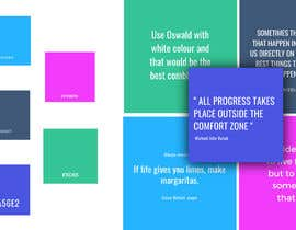 #6 สำหรับ Color palette, heading, subheading and body text font and 5 instagram templates in Canva โดย indranilroy2003