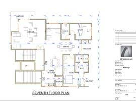 #54 untuk Redesign the architectural drawing of a duplex flat oleh willbsamuel
