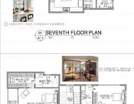#48 untuk Redesign the architectural drawing of a duplex flat oleh arkevinbasco