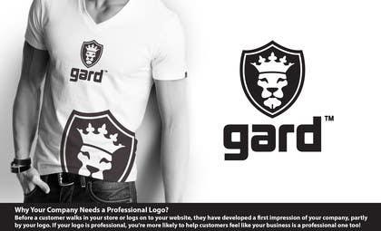 """#22 for Design a Logo for Trademark """"gard"""" by SergiuDorin"""