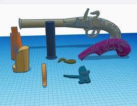 rafihathbd tarafından 3d model of flintlock mechanism için no 1