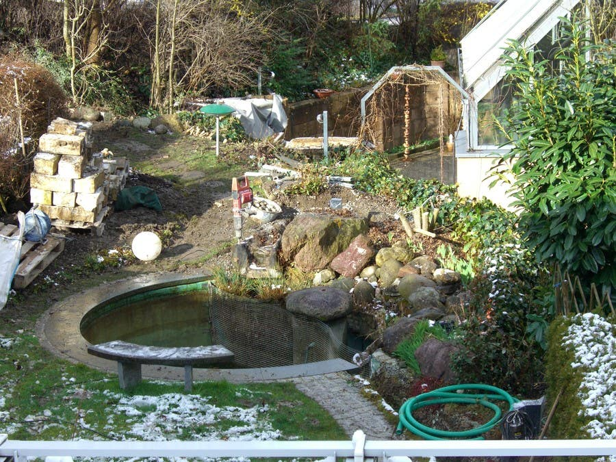Contest Entry #                                        4                                      for                                         Illustration Design for koi pond and garden
