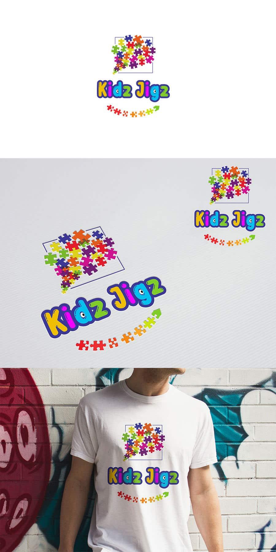 Contest Entry #                                        648                                      for                                         Kidz Puzzles (Logo Design)