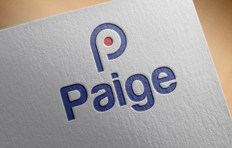 Entri Kontes #                                        1                                      untuk                                        Concevez un logo for Paige Inc