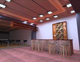 #18 para Interior Design or Layout and 3d Rendering for a restaurant project por sandanimendis
