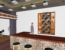 #21 para Interior Design or Layout and 3d Rendering for a restaurant project por sandanimendis