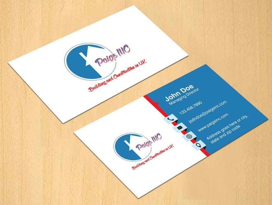 Konkurrenceindlæg #                                        45                                      for                                         Concevez des cartes de visite professionnelles for Paige Inc