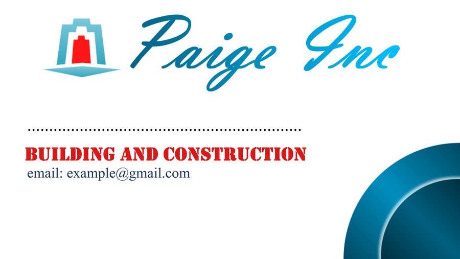 Konkurrenceindlæg #                                        76                                      for                                         Concevez des cartes de visite professionnelles for Paige Inc