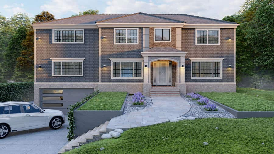 Конкурсная заявка №                                        77                                      для                                         I NEED AN EXTERIOR DESIGNER - WITH EXPERIENCE DESIGNING RESIDENTIAL HOMES IN THE USA NORTHEST