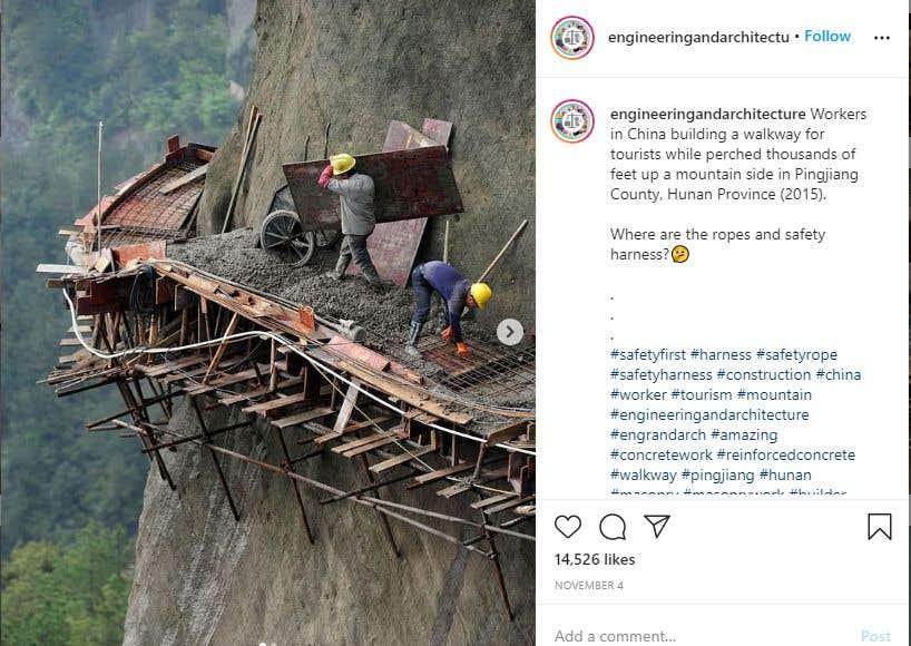 Penyertaan Peraduan #                                        56                                      untuk                                         Find One Piece of Instagram Content (Construction Industry)