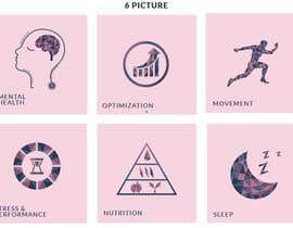 Nro 24 kilpailuun I need 6 illustrations for my website käyttäjältä MDJillur