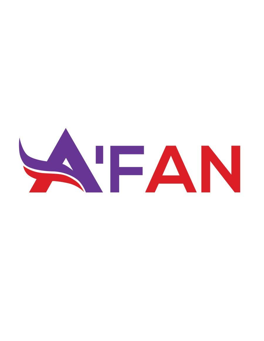 Kilpailutyö #                                        6                                      kilpailussa                                         Need a professional design brand  A'FAN