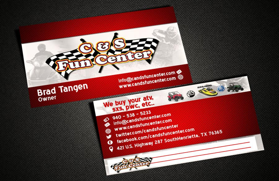 Contest Entry #                                        28                                      for                                         Powersports Dealer (Motorcycle, ATV, UTV, Jet-Ski)
