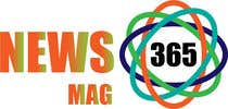 Graphic Design Entri Peraduan #59 for Urgently required very sleek and eligent designed logo and favicon for my website which is based on online news => website brand name is News Mag 365 so i am looking for logo and favicon for it in 3 colors
