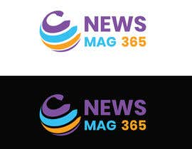 DesignerShahazad tarafından Urgently required very sleek and eligent designed logo and favicon for my website which is based on online news => website brand name is News Mag 365 so i am looking for logo and favicon for it in 3 colors için no 50