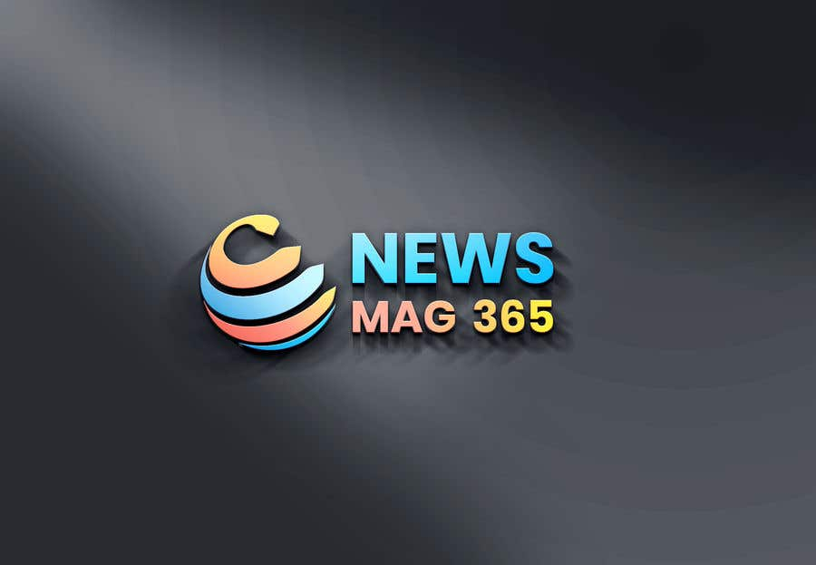 Penyertaan Peraduan #                                        66                                      untuk                                         Urgently required very sleek and eligent designed logo and favicon for my website which is based on online news => website brand name is News Mag 365 so i am looking for logo and favicon for it in 3 colors