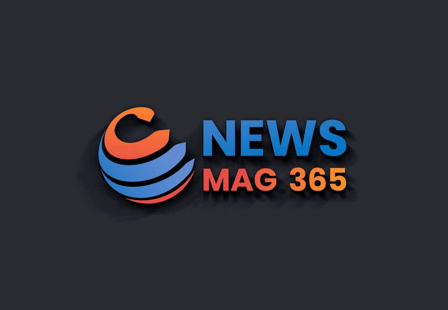 Penyertaan Peraduan #                                        80                                      untuk                                         Urgently required very sleek and eligent designed logo and favicon for my website which is based on online news => website brand name is News Mag 365 so i am looking for logo and favicon for it in 3 colors