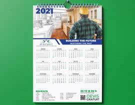 Nro 215 kilpailuun A4 format calendar 2021 käyttäjältä mdrobiulislam126