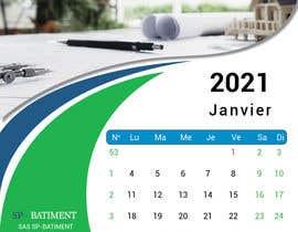 Nro 182 kilpailuun A4 format calendar 2021 käyttäjältä alaashabana208