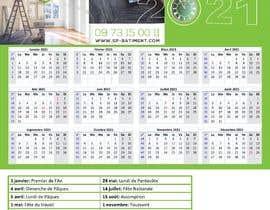 Nro 214 kilpailuun A4 format calendar 2021 käyttäjältä qiyat7