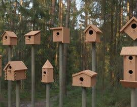 #12 for Make a series of building plans for birdhouses (Fun job!) by ValkovIhor