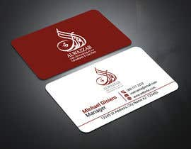 #43 for A formal and Luxurious business Card design af sultanagd