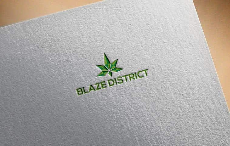 Bài tham dự cuộc thi #                                        114                                      cho                                         Logo BlazeDistrict